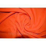 Флис оранжевый фото