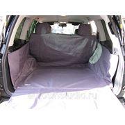 Чехол багажника Standart для автомобилей Lexus LX570 (04.2012---) чёрный фото