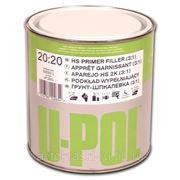 U-POL S2020G/1 Грунт наполнитель 3:1 1л + отвердитель фото