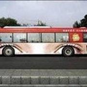 Размещение наружной рекламы и брендирование автотранспорта фото