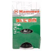 Кордщетка Hammer Br cp-hard hd 65*0,5*m14 фото