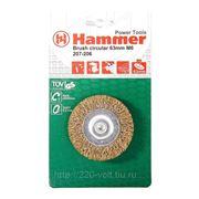 Кордщетка Hammer Br rd-soft 63*0,3*m6 фото