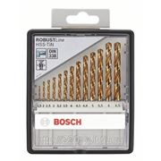 Набор сверл Bosch Robust line hss-tin 13 шт. фото