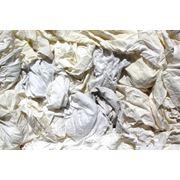 Ветошь постельное белье белое (100% хлопок) фото