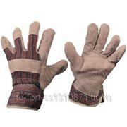 0115 Перчатки спилковые комбинированные Ангара фото