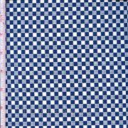 Сине-белая клетка фото