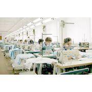 Пошив швейных изделий оптом фото