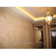 Декоративная штукатурка стен, потолков, фасадов