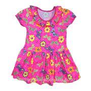 Платье детское трикотажное фото