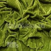 Ткань Велюр (хаки) 90 фото