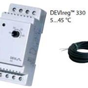 Терморегуляторы электронные на шину DIN DEVIregTM 330диапазон регулирования 5...45 °С фото