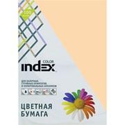 Бумага офисная Index Color, А4, 100 л, персиковый, 80 г фото