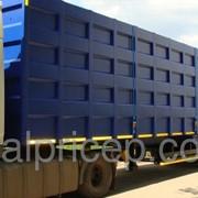 Полуприцеп-металловоз для перевозки лома 80м3 оси SAF фото