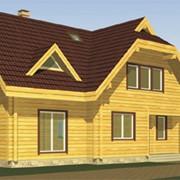 Проекты домов, бань из бруса фото