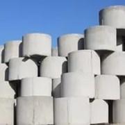 ЖБИ кольца бетонные крышки фото