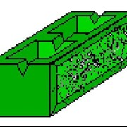 Камень бетонный стеновой облицовочный СБР 1 фото