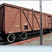 Вагонные железнодорожные весы фото