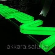 Изготовление световых объемных букв, Шымкент фото