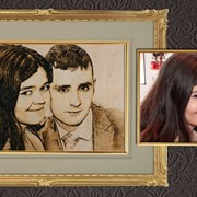 Вышивка фото портретов на заказ фото