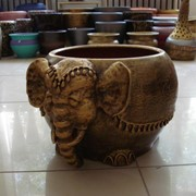 Кашпо Слон фото