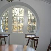 Деревянные окна, двери фото