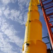 Мусоропровод строительный пластиковый фото