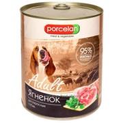 Консервы для собак без злаковые PORCELAN 95% мяса фото