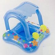 Круг для плавания с навесом, с сиденьем 81*66см Intex 56581 фото