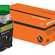 Переключатель BK 2365 2 положения зеленый 1з+1р TDM фото