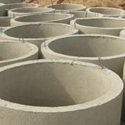 Кольца колодца бетонные фото