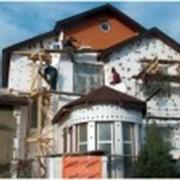 Отделка фасада из фиброцементных плит