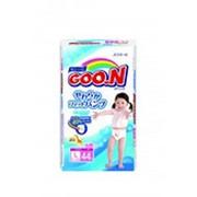 Трусики-подгузники GOON для девочек L (9-14 кг), 44 шт фото