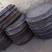 Люки канализационные вес 90 кг нагрузка 25 тонн фото