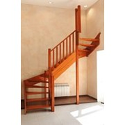 Типовые лестницы из дерева фото