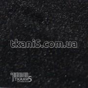 Ткань Тафта подкладочная (черный) 3451 фото