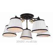 Потолочная люстра Arte Lamp Capri A6344PL-5BR фото