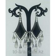 Серьги с кристаллами Swarovski, код 6202604 фото