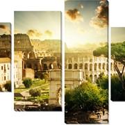 Модульная картина Колизей , Неизвестен фото