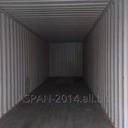 Контейнер 40 футовый High-Cube фото