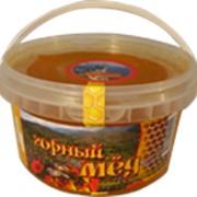 Горный мед ведро 1кг. фото