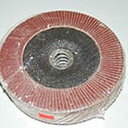 Круг лепестковый торцевой (КЛТ) 180*22 А100 80 фото