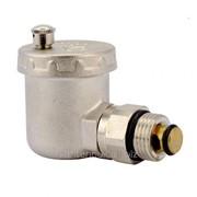 Воздухоотводчик автоматический с клапаном FADO 1/2 угловой фото