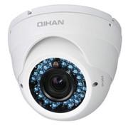 Видеокамера цветная купольная антивандальная QH-406SС-5O