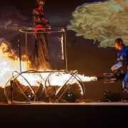Шоу огня FIRE show фото