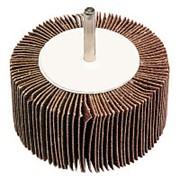 Круг лепестковый со шпинделем 80*40*6мм Р120 alox фото