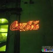 Лазерная реклама в Астане фото