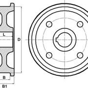 Крановые колеса фото