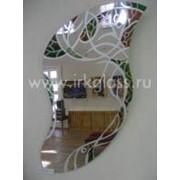 Порезка стекла фигурная фото