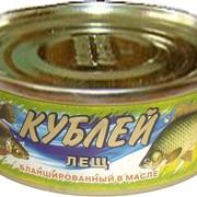 Консервы рыбные, Лещ в масле фото