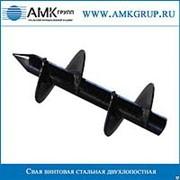 Свая винтовая стальная двухлопастная СВС-2Л 108мм фото